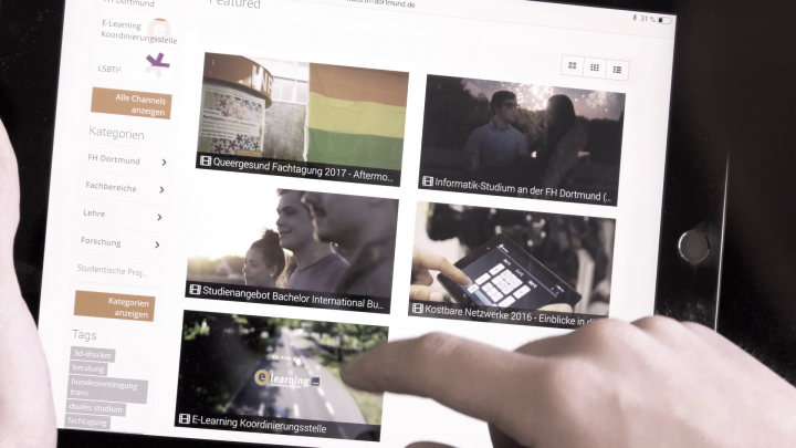 Das neue Video-Portal