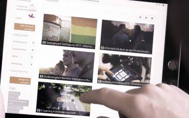 Unser Video-Portal ist online