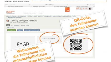 """Auzug aus dem Handbuch """"Arbeiten mit dem ILIAS LiveVoting"""""""