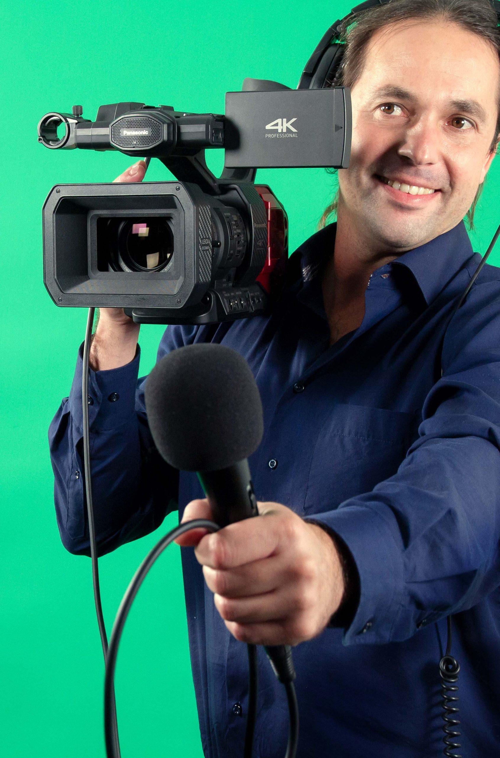 Albert, Leiter des Videoteams