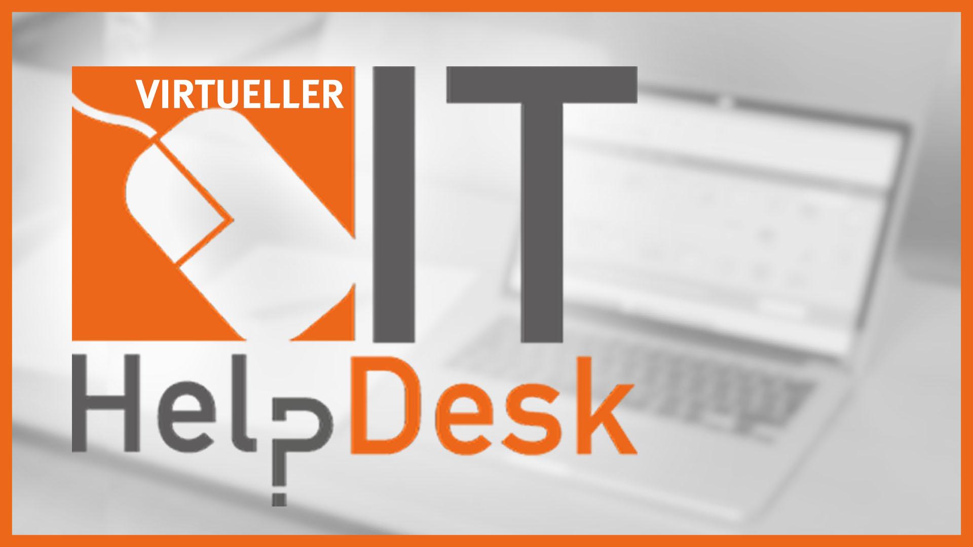 IT-HelpDesk virtuell