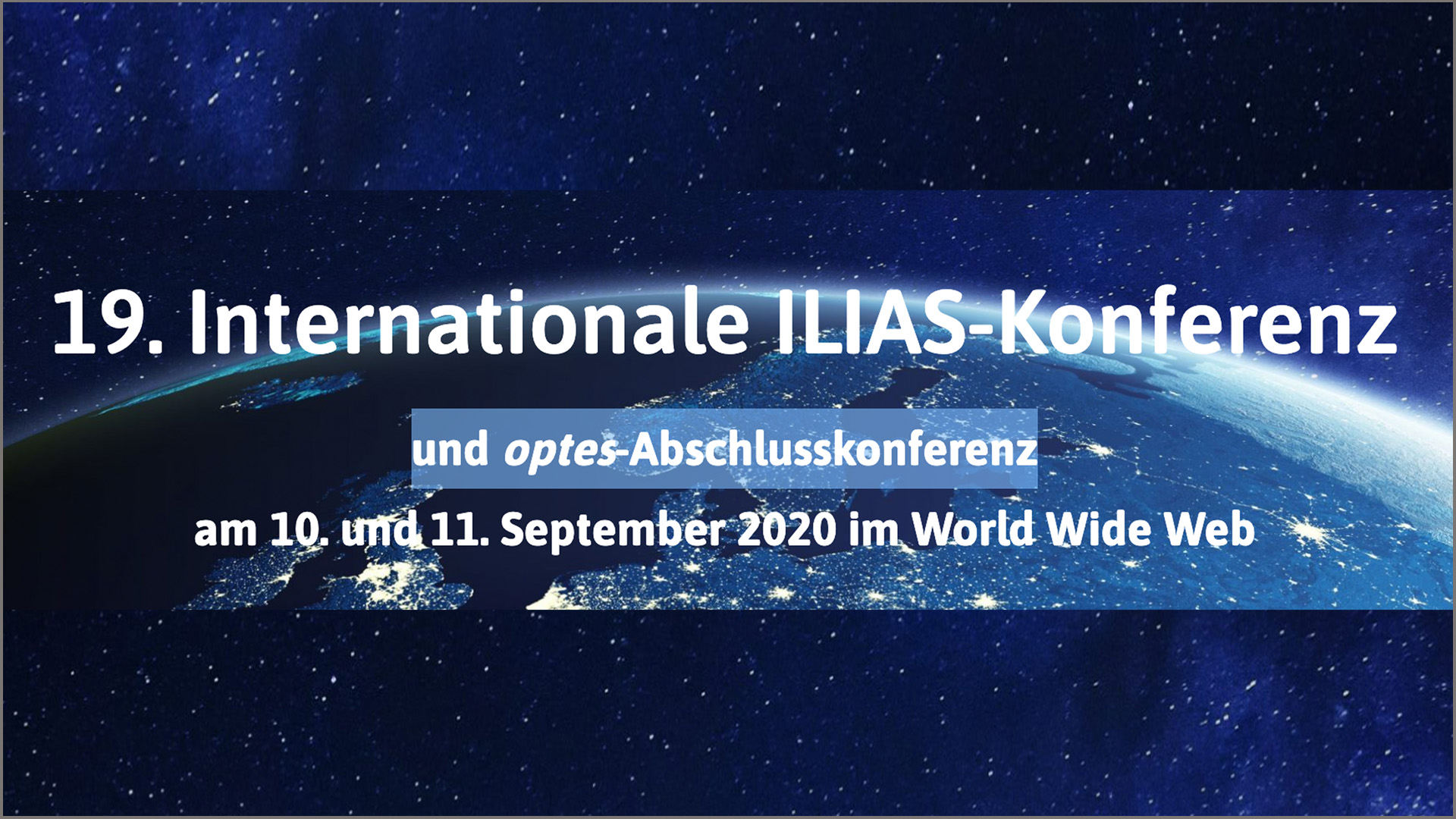 Internationale ILIAS Konferenz 2020