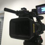 Kamera-Aufbau bei den Mathe-Workshops
