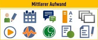 Screenshot: ILIAS Quick Start Guide: Mittlerer Aufwand